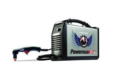 The Hypertherm Powermax 30XP is a powerful small sized plasma cutter that's sure to impress!